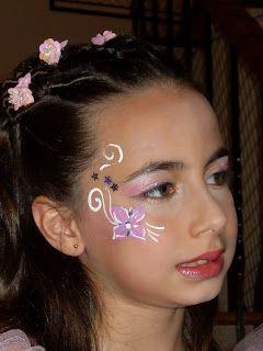 Maquillaje de Hada Floral para niña