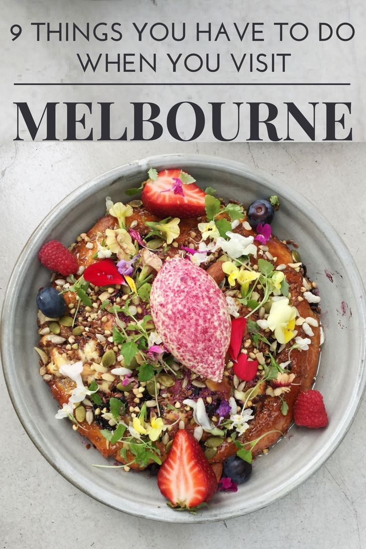 From epic food, to incredible nightlife and fantastic natural sites. Here are the 9 best things to do in Melbourne Australia... what to do in Melbourne / top things to do in Melbourne / things to do in Melbourne Australia / what's on in Melbourne / Things to do in Melbourne city / Melbourne Travel / Australia Travel