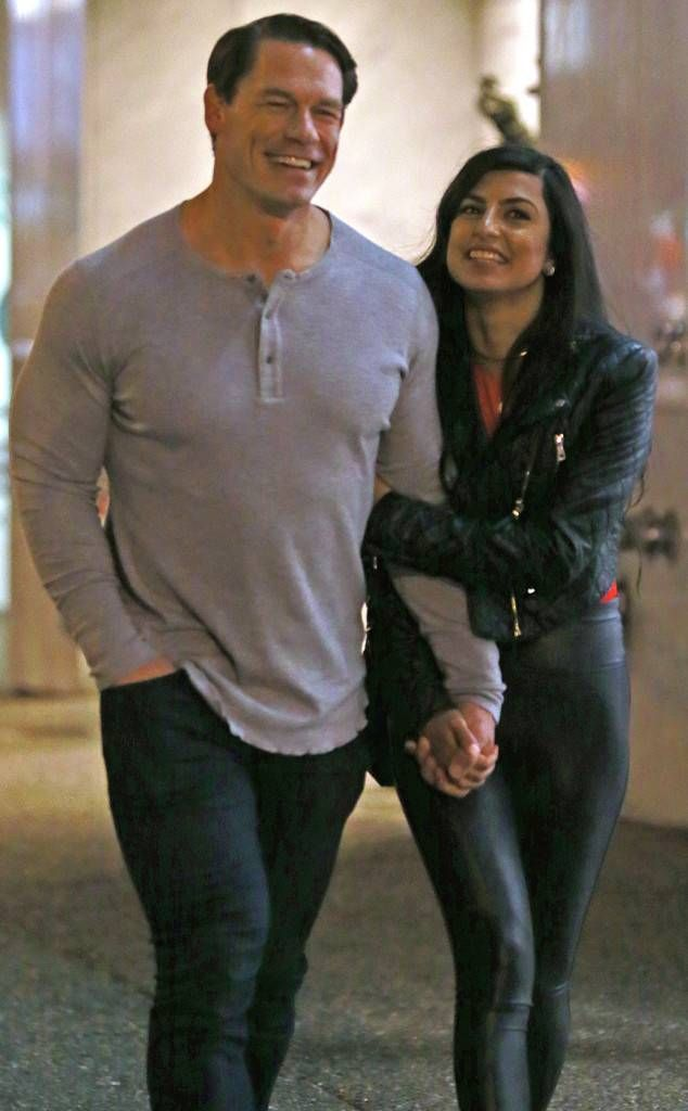 John Cena Gets Cozy With Mystery Woman In Vancouver John Cena John Cena And Nikki Wwe Couples