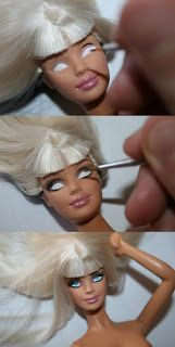 Fashionista Boy: Barbie OOAK - Burlesque Doll by Ever Olliver