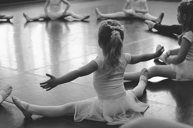 little dancers .. and so it begins ...