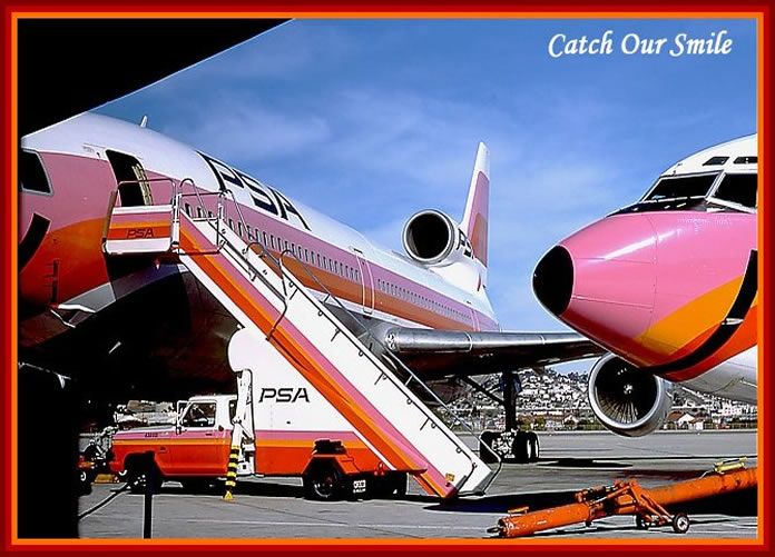 psa san diego airport psa l1011 and psa boeing 727 during my history living in san diego from. Black Bedroom Furniture Sets. Home Design Ideas