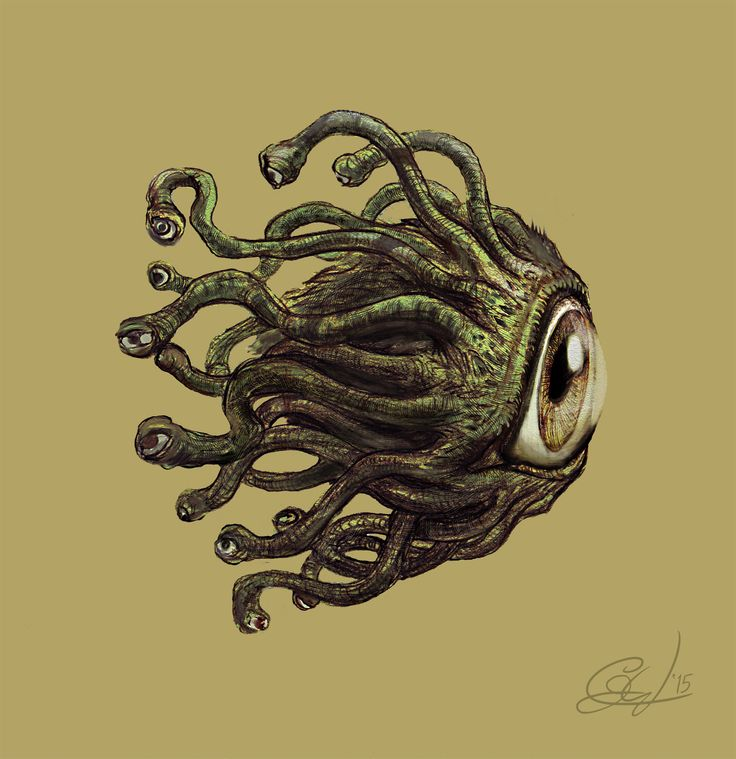 Heroes of Might and Magic - Beholder - Redesign