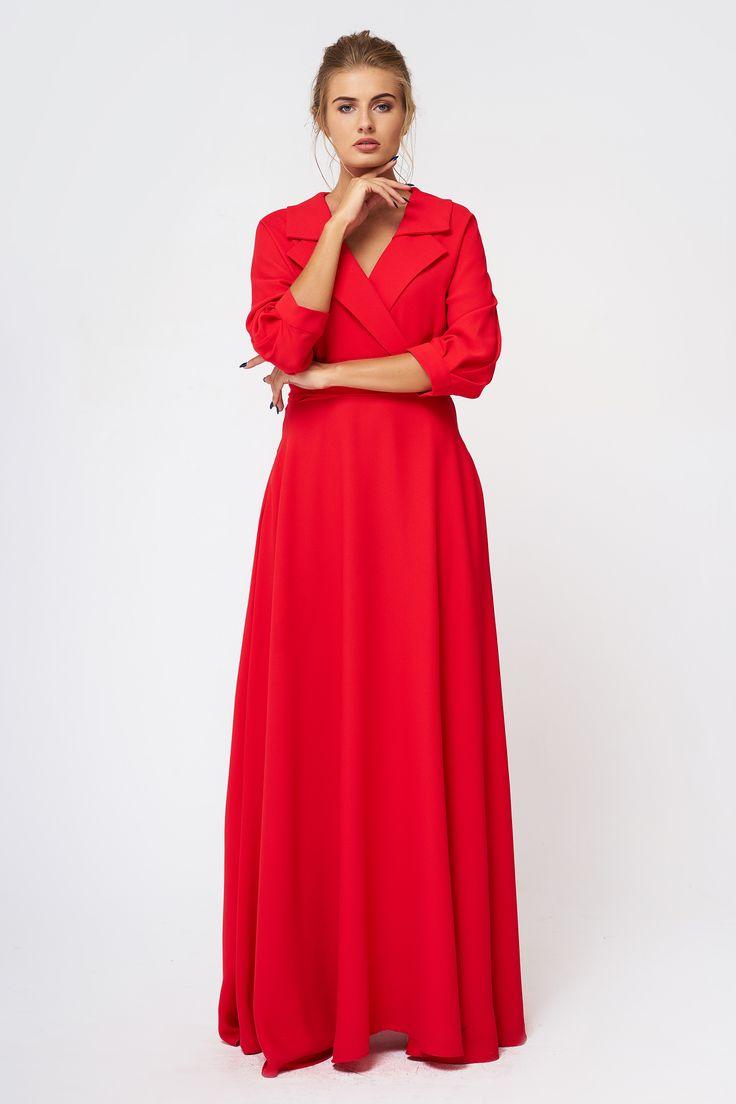 Стильное красное #платье в пол.    #платье #fashion #dress #Satin #moda #kharkiv #kiev #красота #стиль #кройка #мода #женскаяодежда #madeinua #купуйукраїнське