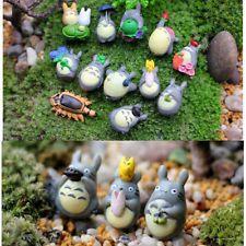 12pcs Hayao Miyazaki Japan Lovely Totoro Figures Toy Desk Decro Ornament Gift