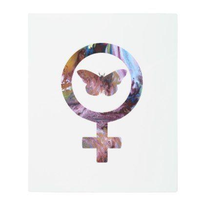 #Posters #Metal #Art - #Venus Butterfly Metal Print
