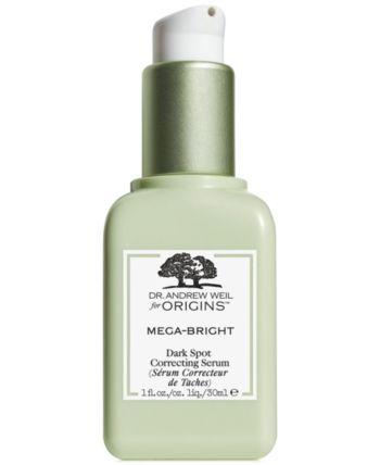Dr. Andrew Weil for Origins Mega-Bright Dark Spot Skin Tone Correcting Serum, 1 oz
