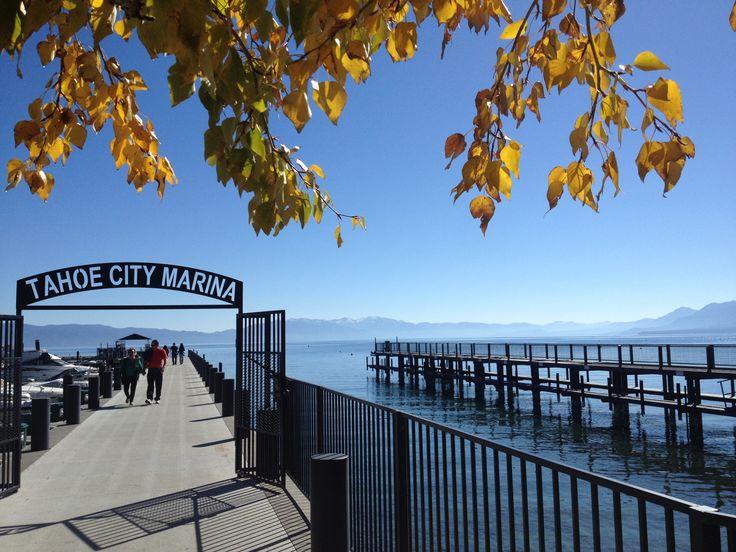 Tahoe City Marina, California