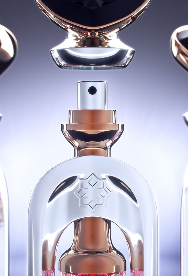 Perfume Vial by Ivan Venkov at Coroflot.com