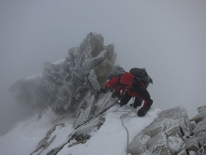Piz Bernina, 4049m, via Biancograt, ZS+ III