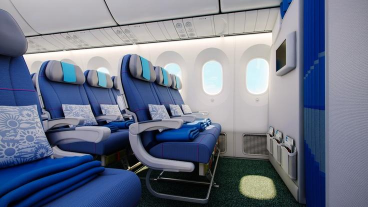 Another economy class photo. How do you find Dreamliner windows?  Kolejna wizualizacja z klasy ekonomicznej - jak podobają Wam się okna Dreamlinera?
