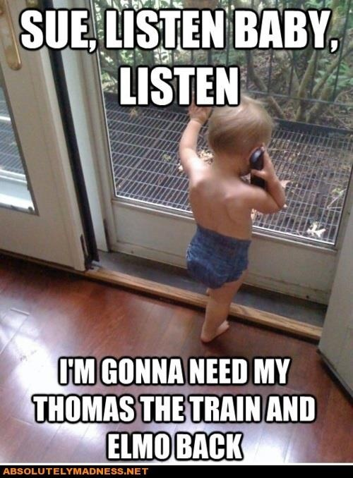 Baby Talk ...   Okay, I have no children myself but this made me laugh hard!!!  Reminds me of my niece and nephews...