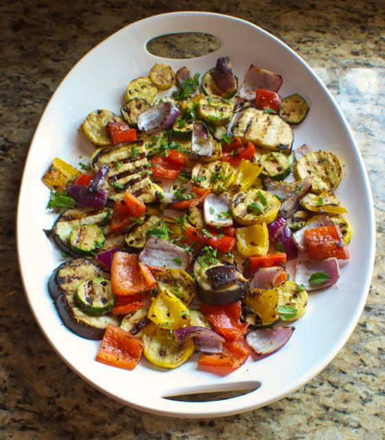 Miso Grilled Vegetables from betsylife.com..... Grill outdoors to keep ...