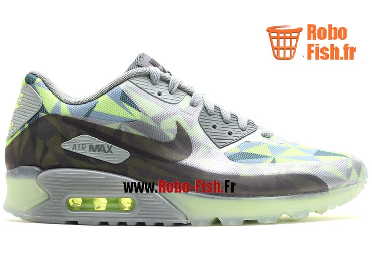 """Nike Air Max 90 Ice """"Ice"""" - Chaussure Nike Running Pas Cher Pour Homme Volt 631748-700"""