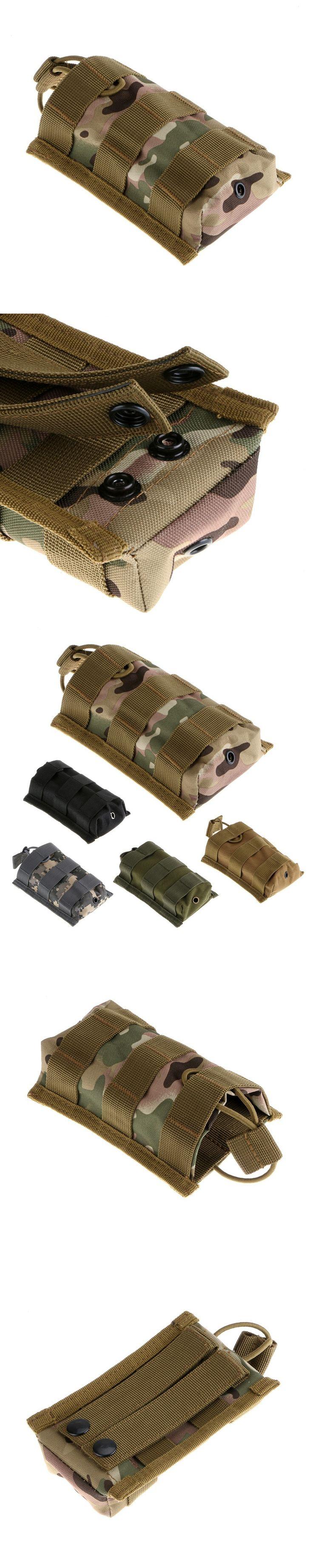 Tactical Molle Pouch Single Rifle Magazine Pouch Open Top Bag Cartridge Clip Pouch For M4/M16 5.56 .223