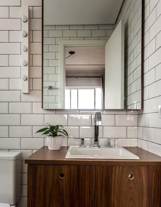 Apartamento pequeno tem boas soluções e decoração escandinava