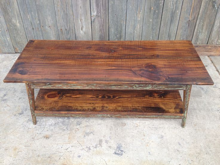 Landrum Tables in Charleston SC makes furniture from reclaimed wood found  throughout the Southeast http: - 30 Best Images About Coffee Tables On Pinterest Marble Top
