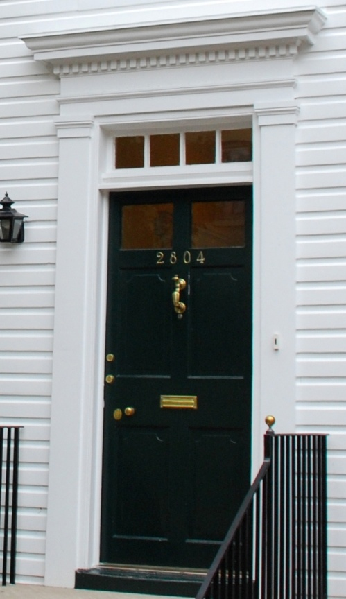 Colonial and Federal Homes Georgetown was founded in 1751. As such the town contains & Best 25+ Colonial front door ideas on Pinterest | Colonial ... Pezcame.Com