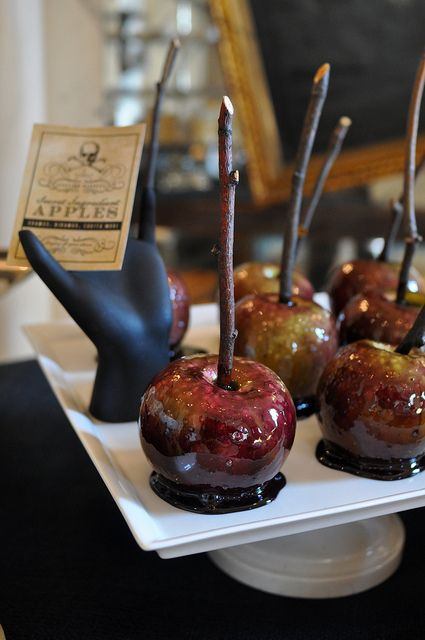 Party Not Quite Candy Apples