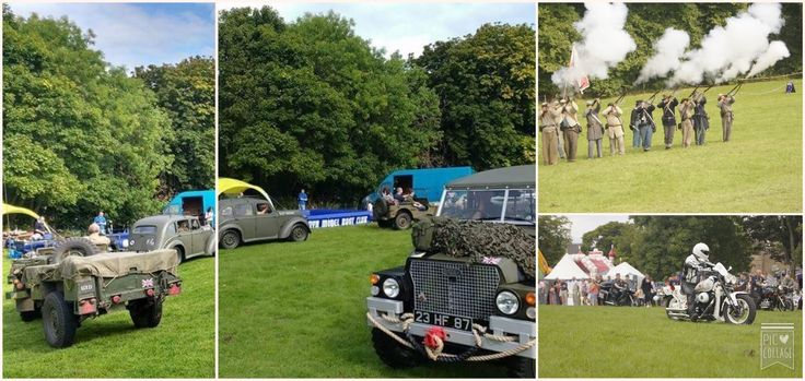 """Many thanks to all those involved in making """"Forces in the Field"""" such a wonderful event.  A few pics of our re-enactment actors in authentic uniform of the period (c.1812)."""