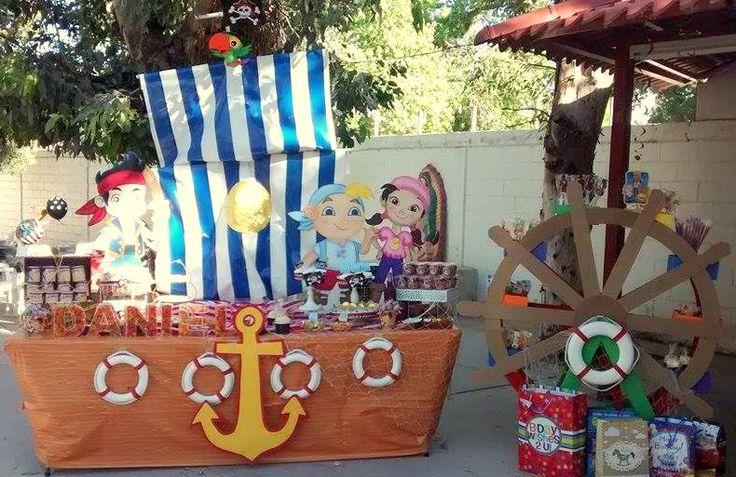 Jake y los piratas del nunca jamas marly 39 s decoraciones - Decoracion de barcos ...