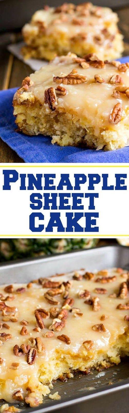 Ananas-Blatt-Kuchen   – Sweet Eats