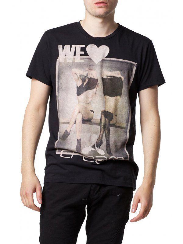 "Religion Clothing Herren T Shirt Shirt ""WE Love Cream Bench""Schwarz Ibiza NEU   eBay"