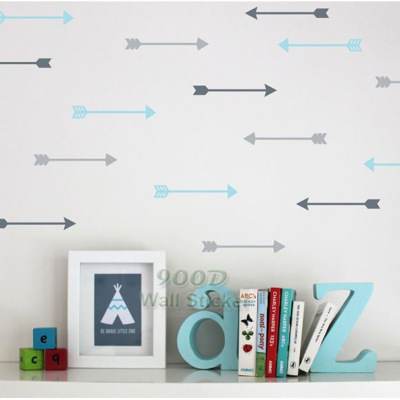 US $8.93 -- AliExpress.com Product - 27 Cartoon Arrow Wall Stickers Wall Decals, Removable Child Room decoration art Wall Decors Free Shipping 3 types