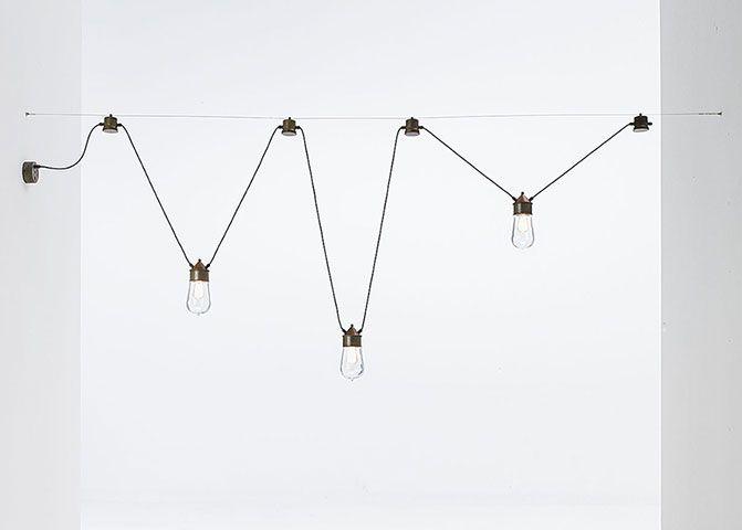 Drop | Lampade a sospensione in ottone, rame e vetro da interno e esterno