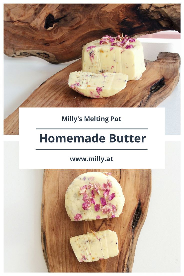 Are you crafty? Do you like doing things at home on your own? Well let me tell you: homemade butter is close to 0 effort and it tastes AMAZING! So creamy and in this case garlicky ! Let you mixer do the work for you and enjoy homemade butter in the easiest and quickest of ways!