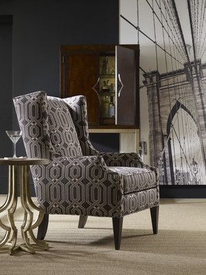 #Sam Moore Furniture Pressley #Wing Chair : sam moore sectionals - Sectionals, Sofas & Couches