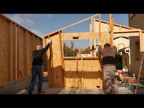 comment construire votre extension ossature bois vous m me. Black Bedroom Furniture Sets. Home Design Ideas