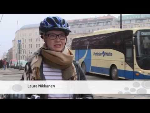 Pyöräilykypärä päähän, vaikka kampaus kärsisi - 12.5.2011 - YouTube