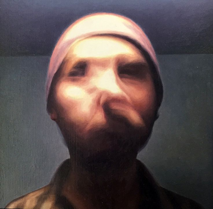 James Bonncii,Blurred no 11 20 x 20 cm, oil on linen, available