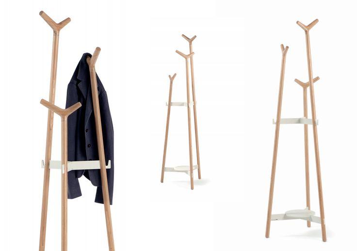 Nuevo perchero de pie de mobles114 modelo forc dise o de for Modelos de percheros