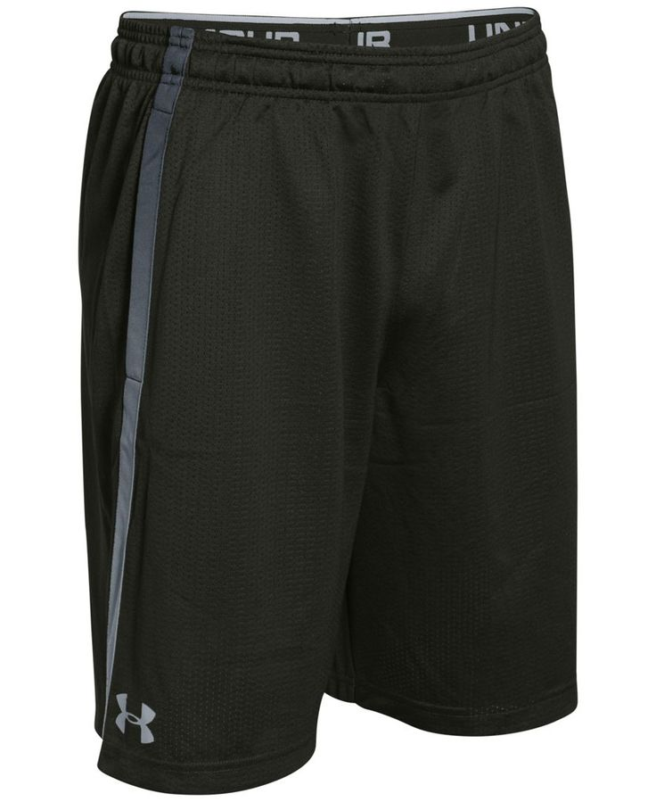 Stay cool no matter how hot the competition with these breathable Ua Tech shorts from Under Armour. | Polyester | Machine washable | Imported | Loose: Fuller cut for complete comfort. | UA Tech™ mesh