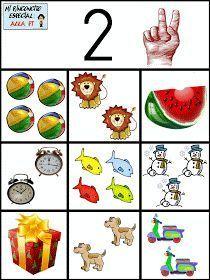 Para trabajar con los niños de infantil los números y que comprendan la asociación entre número y cantidad he creado estas fichitas. Poco ...