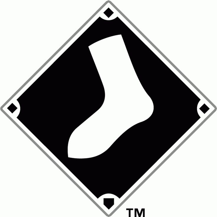 Chicago White Sox Alternate Logo (1990) - A white sock on ...