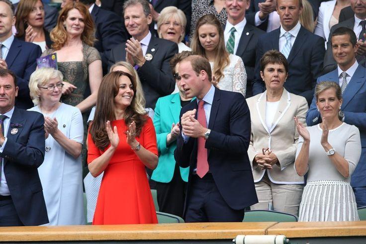 Kate Middleton en prins William maken plezier op Wimbledon - Het Nieuwsblad: http://www.nieuwsblad.be/cnt/dmf20150709_01769452