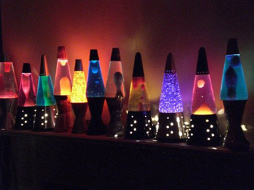 Lava lamps are great for energy flow.