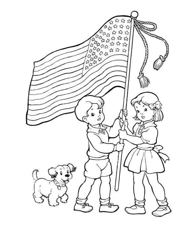 Memorial Day Pictures To Color Easy Pictures To Color Free