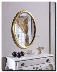 Spiegel Benedetta  is een ovale spiegel en houdt van eenvoud. Eenvoud siert....  http://www.barokspiegel.com/detail/4451185-7-0042-l-spiegel-benedetta