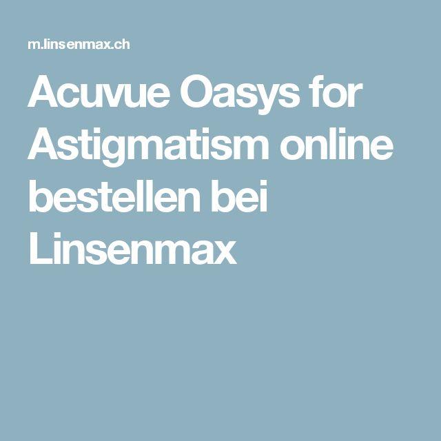 Acuvue Oasys for Astigmatism online bestellen bei Linsenmax