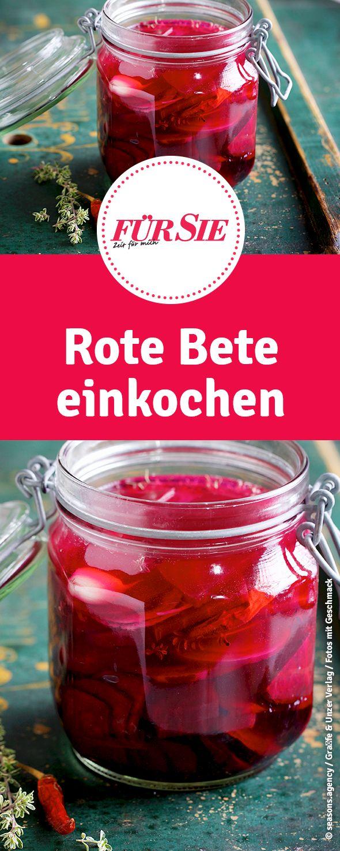 Tipps und Rezepte zum Rote Bete einkochen findet ihr hier.