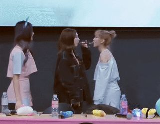 Nayeon and Momo play the pocky game (ft prankster Tzuyu)