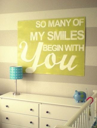 Love this!: Wall Art, Sweet, Kids Room, Quote, Nursery Ideas, Baby Rooms, Smile