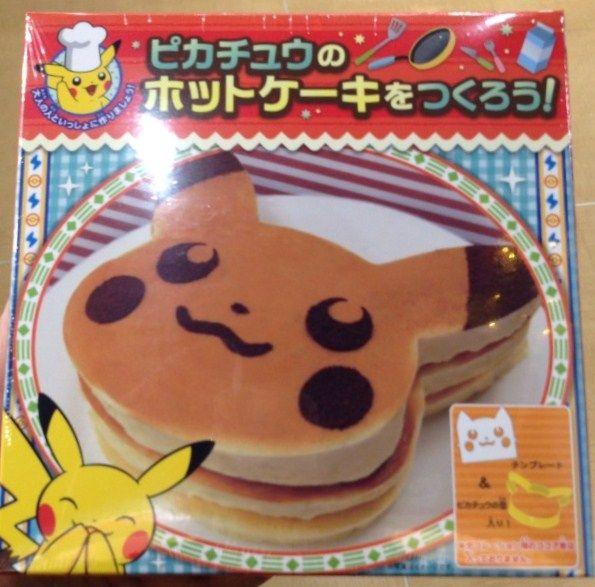 Pokemon Photos from Tokyo - Pikachu Pancake Kit | Pokemon
