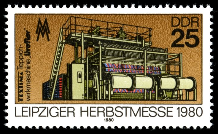 Stamps of Germany (DDR) 1980 Leipziger Herbstmesse 1980
