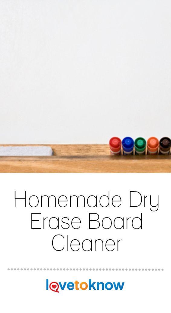 Homemade Dry Erase Board Cleaner Lovetoknow Dry Erase Board Diy Dry Erase Board Clean Dry Erase Board