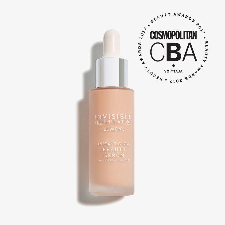 Paras meikkivoide | Cosmopolitan Beauty Awards 2017 | Invisible Illumination Instant Glow Sävyseerumi | Lumene